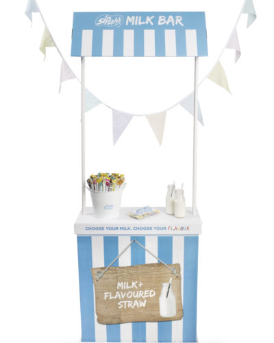 Sipahh Milk bar with bunting