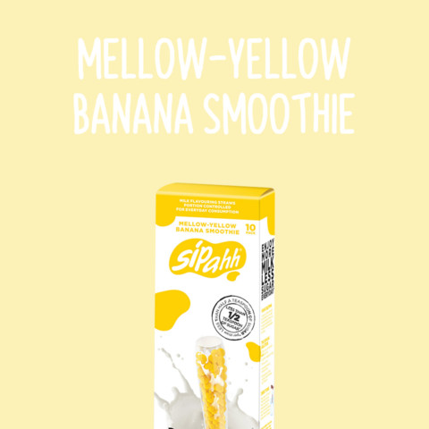Mellow-Yellow Banana Smoothie