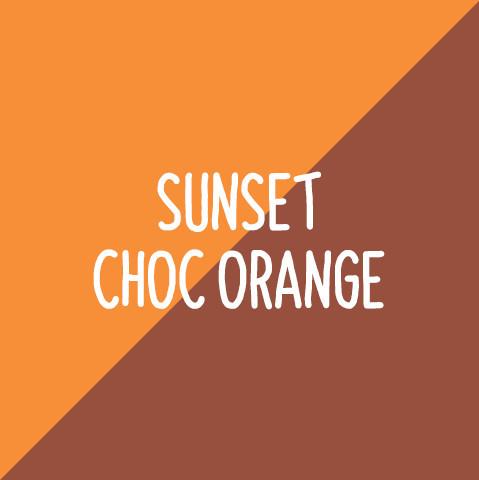 Sunset Choc Orange